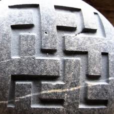 Камень с символом Одолень-трава