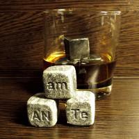Камни для виски с гравировкой