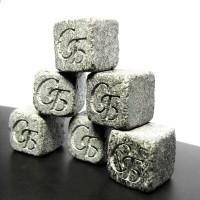 Камни для виски с инициалами