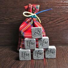 Камни для виски в подарок на юбилей
