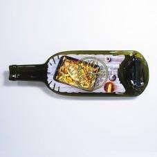 Часы из бутылки. Вкусная рыба.