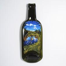 Часы из бутылки. Река.