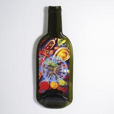 Часы из бутылки. Специи и приправы.