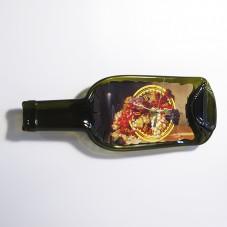 Часы из бутылки. Натюрморт с виноградом.