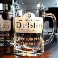 Пивная кружка с логотипом «Irish Pub «Dublin»