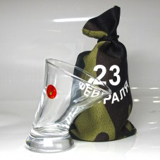 Пьяная рюмка «23 февраля»