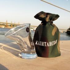 Пьяная рюмка «Капитанская»