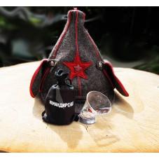 Пьяная рюмка «Командирская»