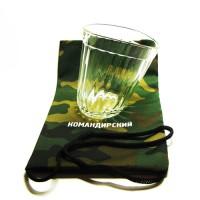 Граненый стакан в подарок на 23 февраля