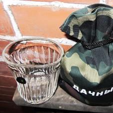 "Пьяный стакан ""Дачный"""