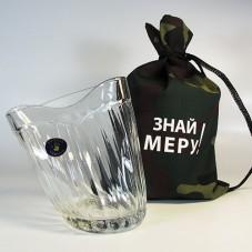Пьяный стакан «Знай меру!»