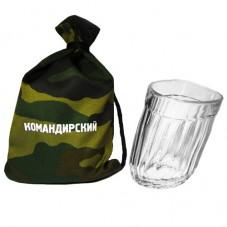 Подарок на 23 февраля – пьяный стакан